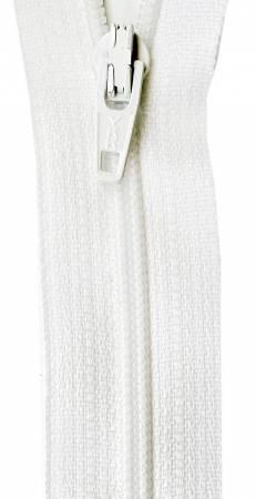Zipper 22 in. Marshmallow