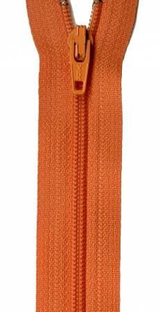 Zipper 22 in. Orange Peel