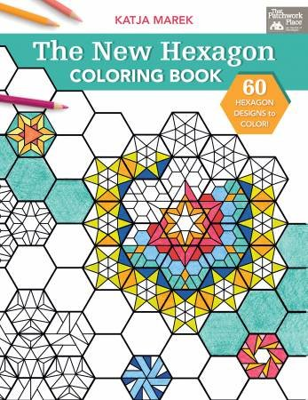 New Hexagon Coloring Book - Softcover