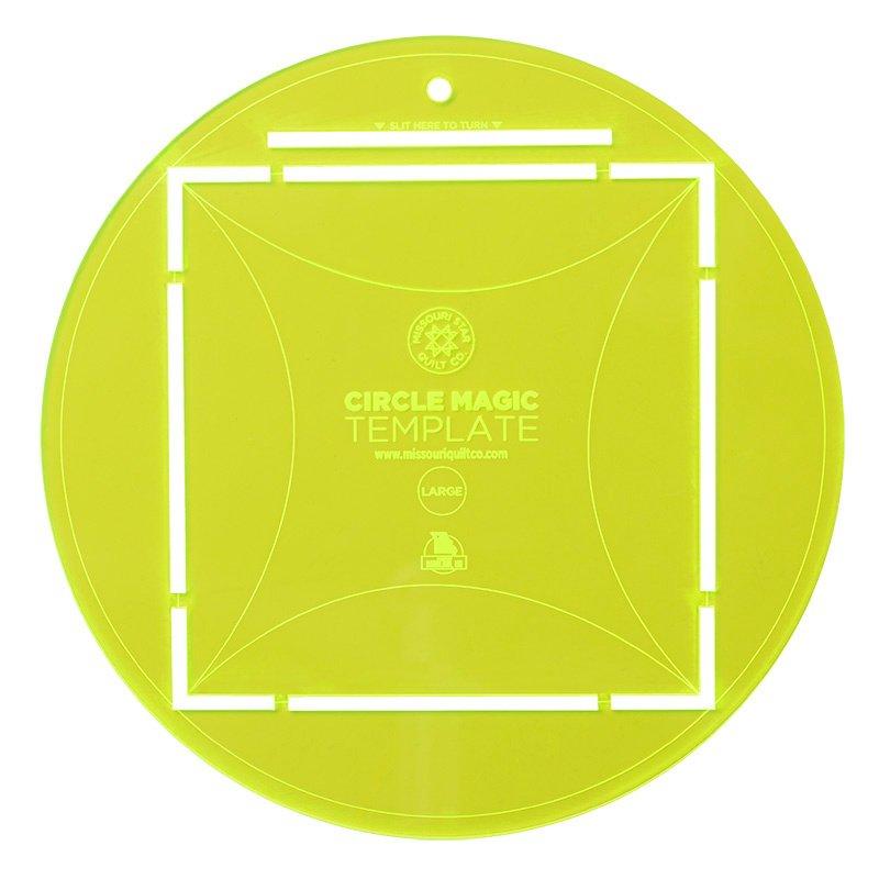 Missouri Star Circle Magic Large 10 Circle Template