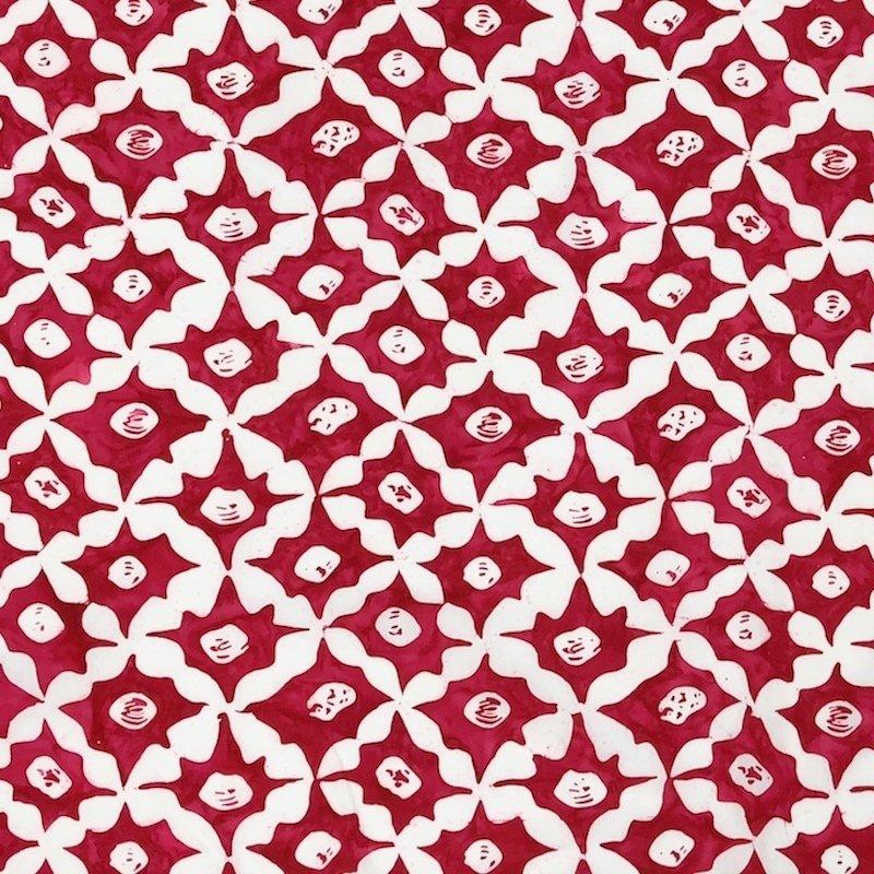 Kaffe Fassett - Artisan Batik - Stars BKKF011.0RED, Red