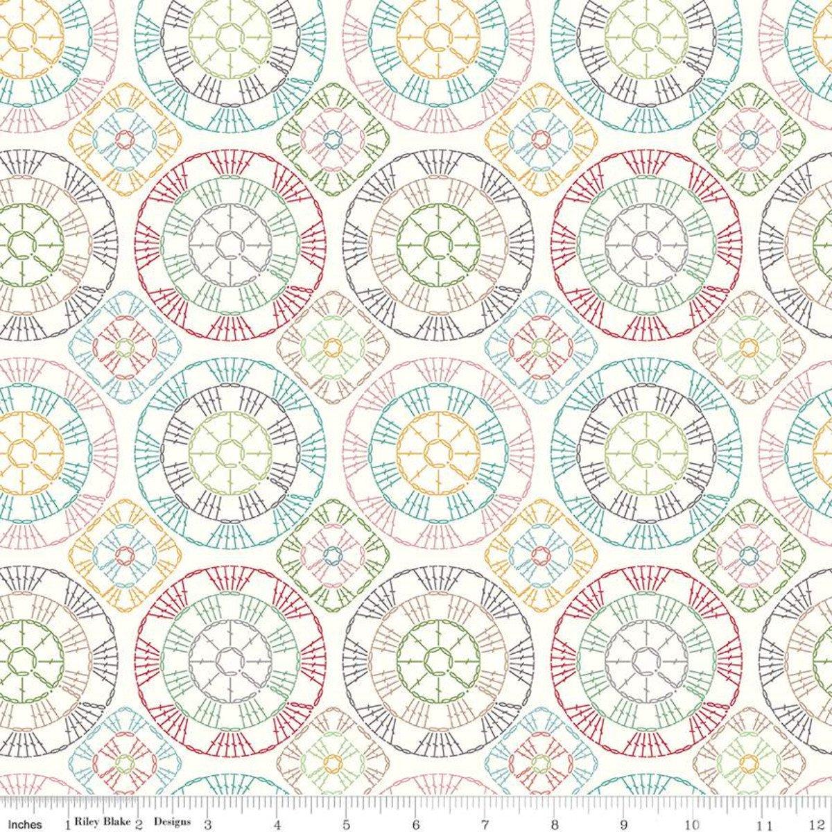 Stitch by Lori Holt - Cloud  C10937