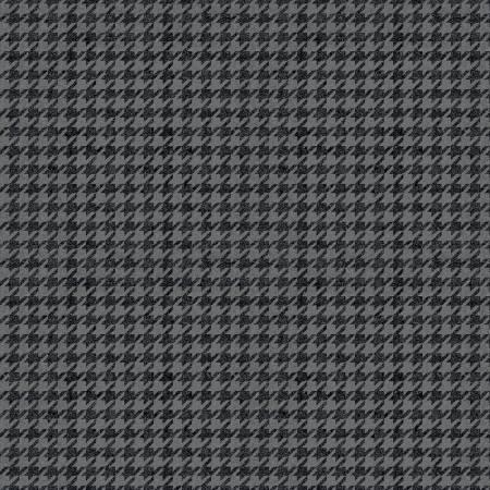 Plaids Houndstooth Black C637R-Black