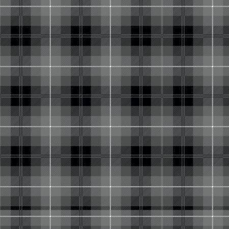 Plaids Tartan Black C638R-Black