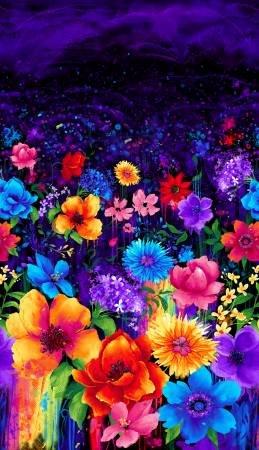 Panel Multi Night Bloom C7807
