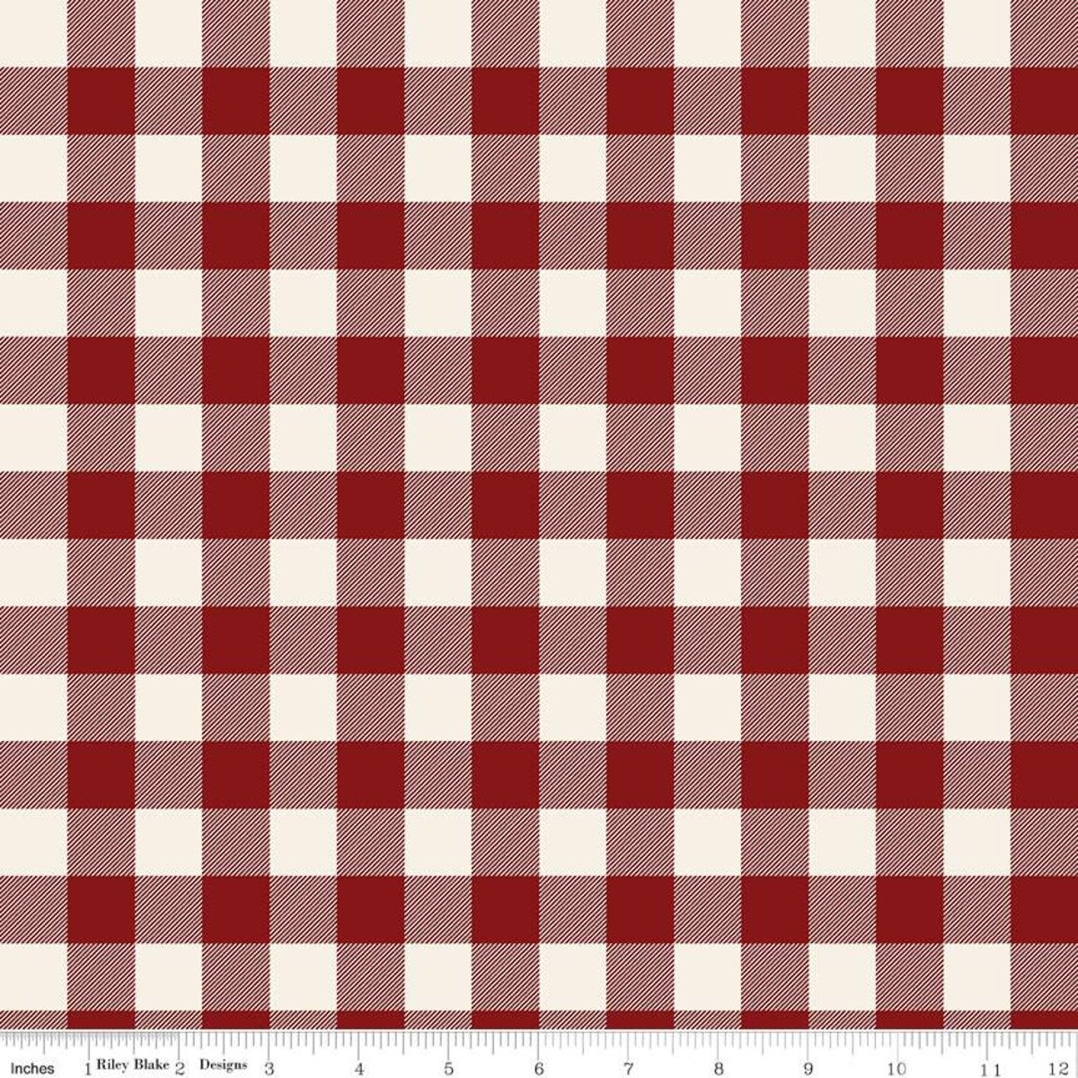 Christmas Traditions Plaid Red C9595-RED