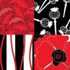 Poppy Passion 2 1/2in. Strips