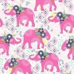 Bungalow - Pink - CX9501-D - Michael Miller