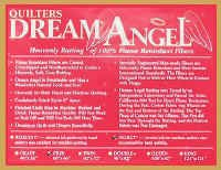 Quilters Dream Angel Select Batting - Craft