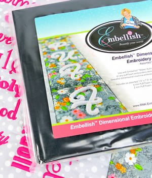 Embellish Dimensional Embroidery Foam