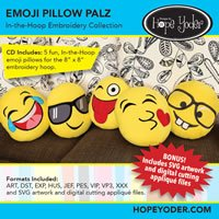 Emoji Pillow Palz