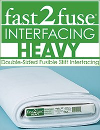 Heavyweight Double Sided Fusible Stiff Interfacing