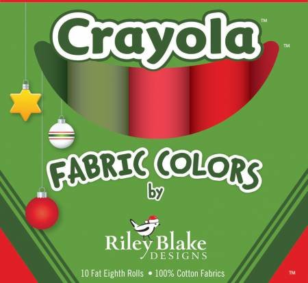 Fat Eight Crayola Box Christmas Colorway 9in x 22in