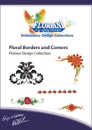Floral Borders and Corners Design Set