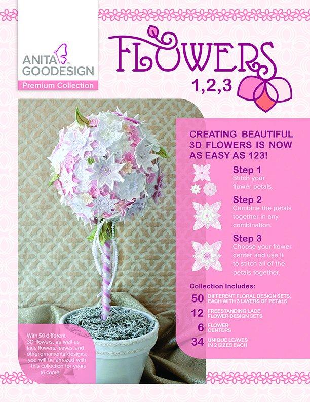 Flowers 1,2,3