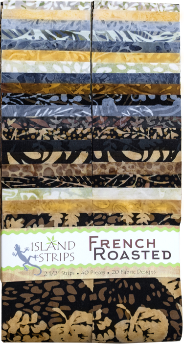 Island 2 1/2 Strips, French Roasted