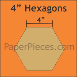 Paper Hexagons 4