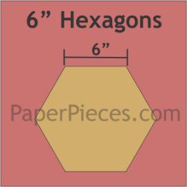 Paper Hexagons 6
