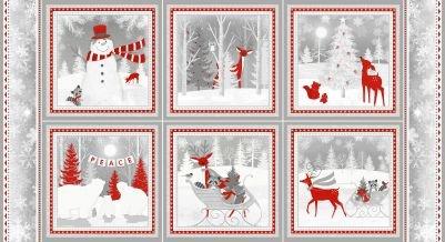 Winter Frost Panel 9221-89