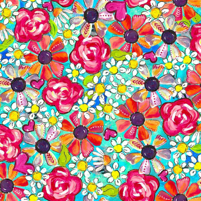 Joy Blooms Tossed Posies  17302