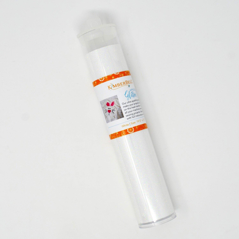 Applique Glitter Sheet White
