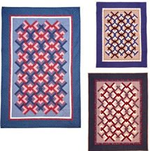 Linked Chevrons Quilt Pattern