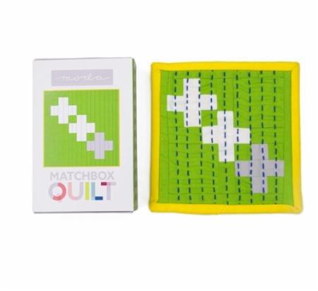 Matchbox Quilt Kit Gray