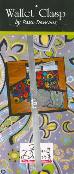 Quick Clutch Wallet Frame Silver