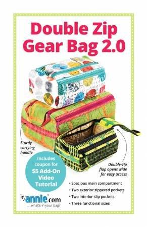 Double Zip Gear Bag