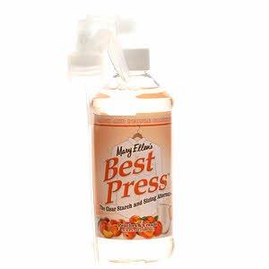 Best Press Spray Starch Peaches & Cream 16oz