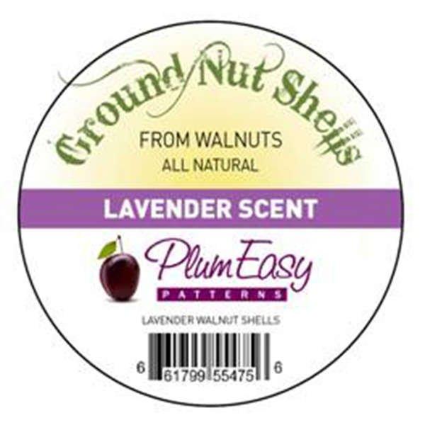 Ground Walnut Shells with Lavender