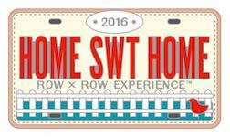 Row By Row 2016 RECTANGLE Logo Pin