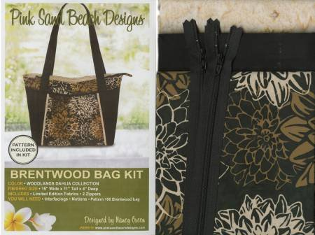 Brentwood Bag Woodlands Dahlia  Kit