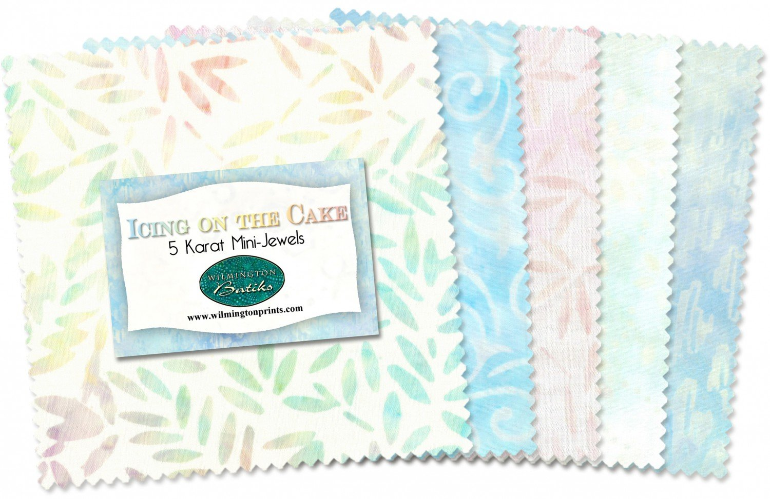 Icing on the Cake Batiks 5 squares - 24pcs