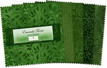 Emerald Forest - 5 Squares