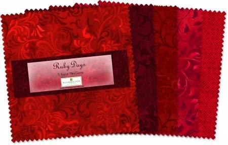 Ruby Days Essential Gems -5 Squares