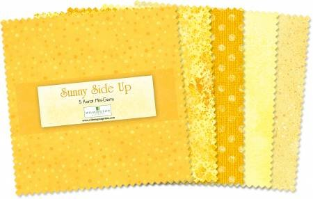 Sunny Side Up - 5 Squares