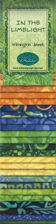 2-1/2in Strips In The Limelight Batik 24pcs