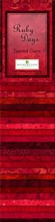Ruby Days Essential Gems - 2 1/2 Strips