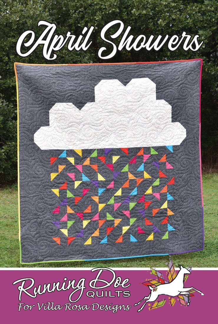 April Showers by Running Doe Quilts