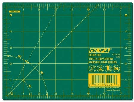 Cutting Mat with Grid 6 x 8