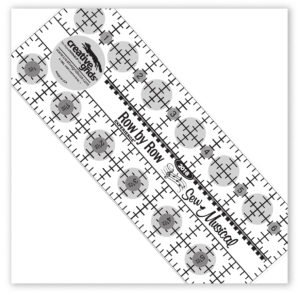 Row by Row Sew Musical 2-1/2 x 6-1/2 inch ruler