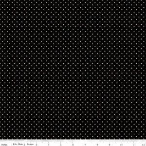 Small Dots C670 Black Gold