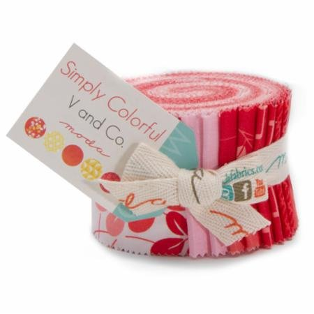 Simply Colorful Junior Jelly Roll Red