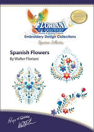 Spanish Flowers Signature Series Design Set