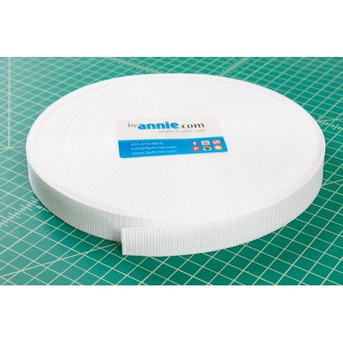 White Polypro Strapping - 1inch