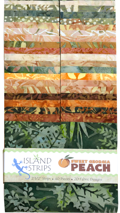 Island 2 1/2 Strips, Sweet Georgia Peach