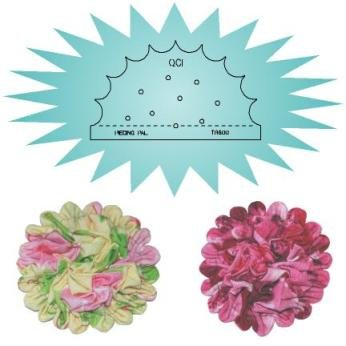 Coin Ruched Blossom Guide