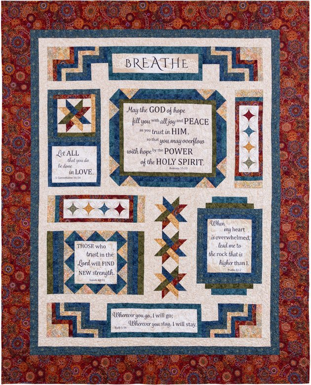 Woven in Faith Quilt Kit