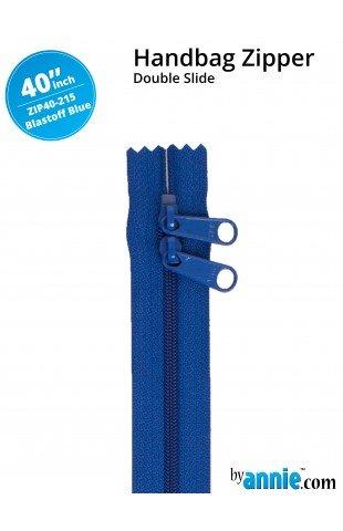 Double-slide Handbag Zipper 40in